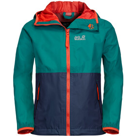 Jack Wolfskin Rainy Days Jacke Kinder green ocean